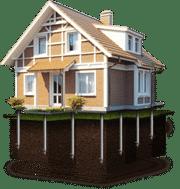 Дома из бревна, бруса, каркасно-щитовые