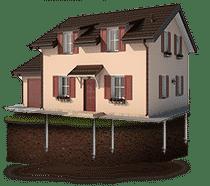 Кирпичные и другие каменные дома и коттеджи