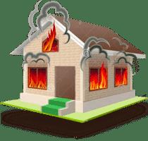 Дома после пожара