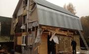 Демонтаж дома и фундамента во Внуковском районе 1